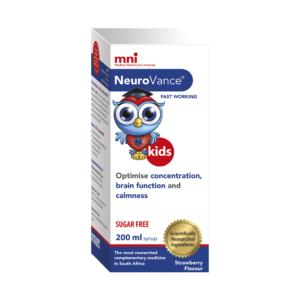 Optimise your child's concentration, brain function and focus with NeuroVance Syrup