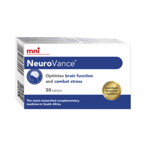 NeuroVance optimises brain function and combats stress.