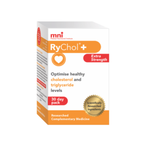 RyChol can optimise healthy cholesterol and triglyceride levels