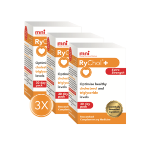 RyChol 3x Value Pack can optimise healthy cholesterol and triglyceride levels