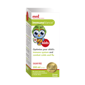 ImmunoVance Syrup optimises your child's immune system and combat colds and flu.