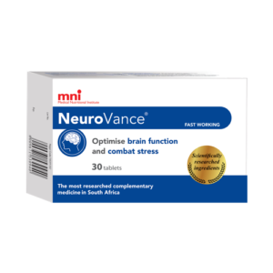 NeuroVance optimises brain function and combats stress