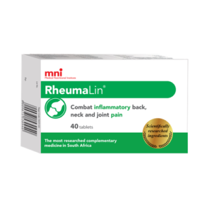 RheumaLin 40 tablets pack can combat inflammatory back, neck and joint pain