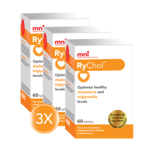 RyChol optimises healthy cholesterol and triglyceride levels